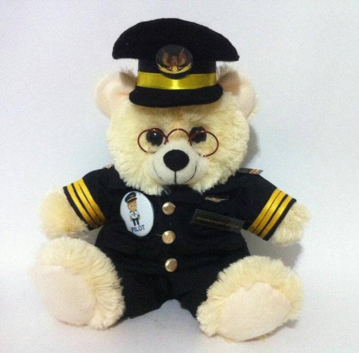 Jual Boneka Kostum teddy bear profesi Pilot 25cm - Sumbatoys and ... aa823093b1