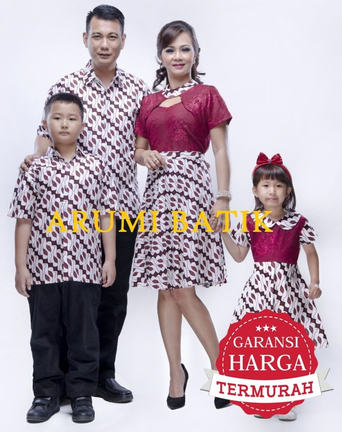harga Sarimbit pasangan couple kemeja dress seragam batik 2156 merah xl Tokopedia.com