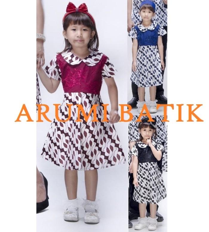 harga Dress   dres   terusan   baju batik anak perempuan 2161 4 - 9 tahun 2b6435ab9f