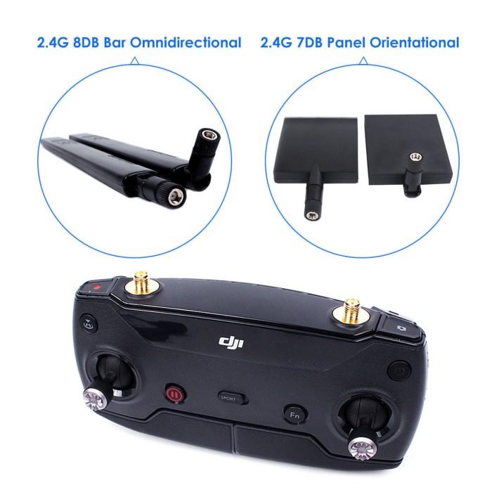 harga 2.4ghz 7+8dbi signal range antenna extender dji spark & dji mavic pro Tokopedia.com