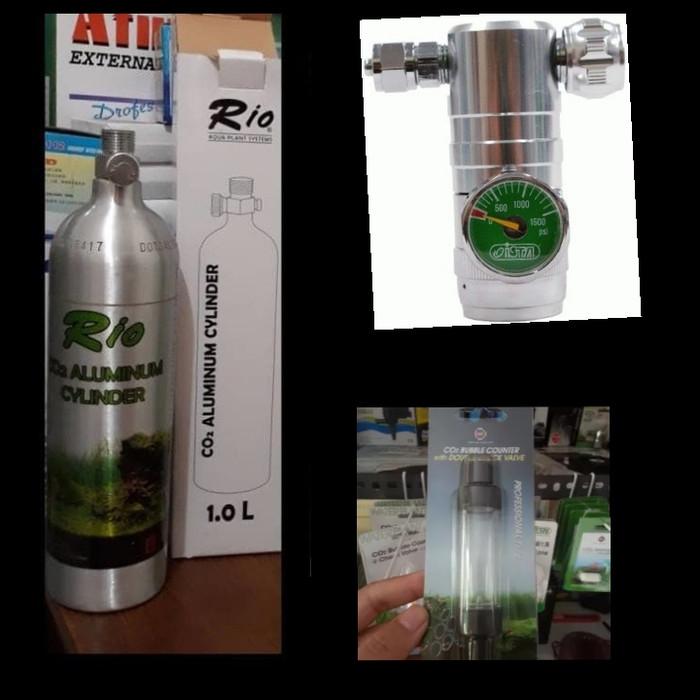 harga Aquascape - paket tabung co2 1l aluminium precise d499 bc cv Tokopedia.com