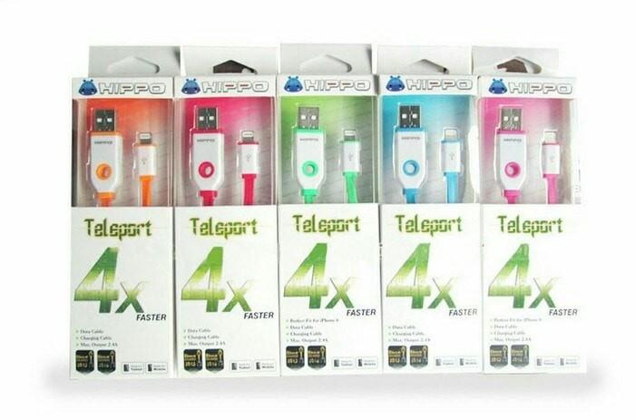 harga Hippo teleport lightning 90cm iphone ipad mini cable data Tokopedia.com