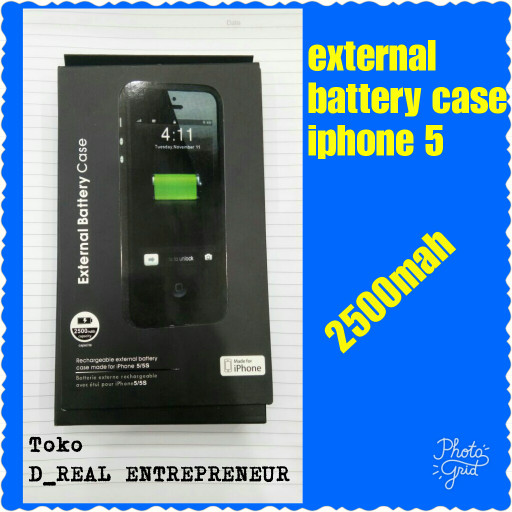 harga Power bank case external battery baterai iphone 5 5g 5s 5se Tokopedia.com