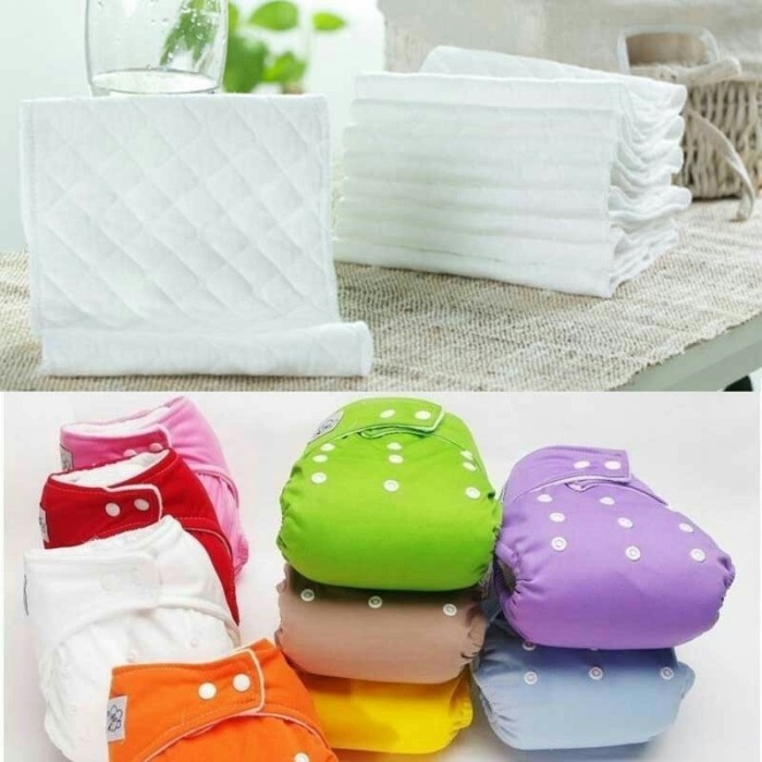 harga Paket clodi + 2 insert cloth diaper qianquhui popok kain cuci ulang Tokopedia.com