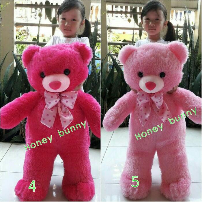 Jual Boneka teddy bear   beruang super jumbo 75cm berbagai warna ... ce62367baa