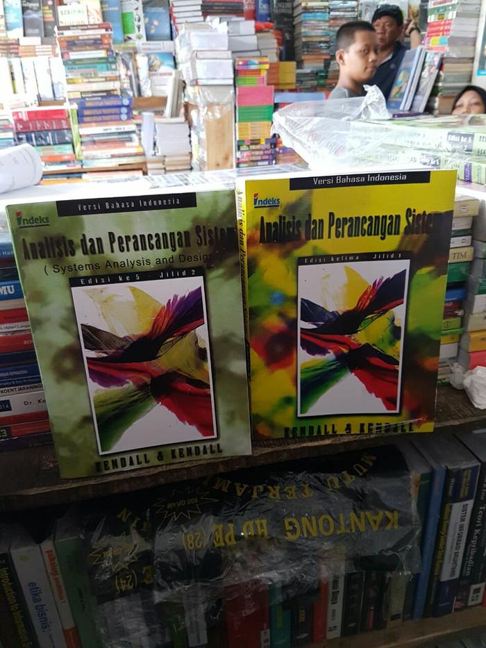 harga Analisis dan perancangan sistem edisi 5 jilid 1 dan jilid 2 by kendall Tokopedia.com
