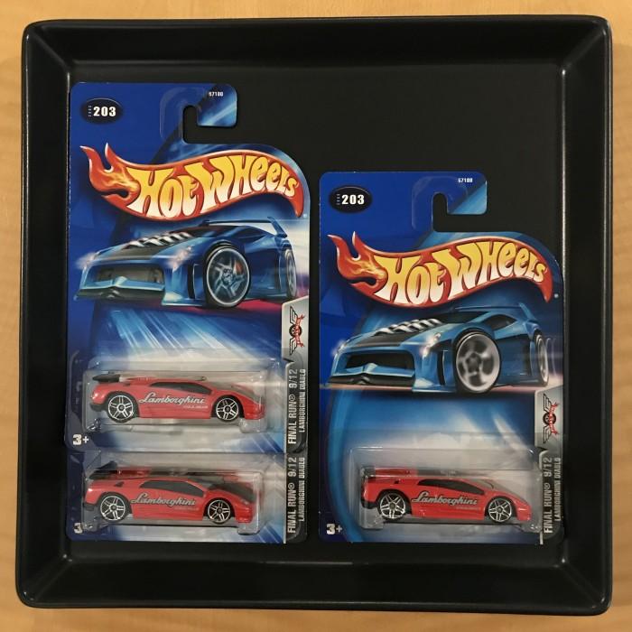 Jual Hot Wheels Lamborghini Diablo 2003 Final Run Card Variation Set