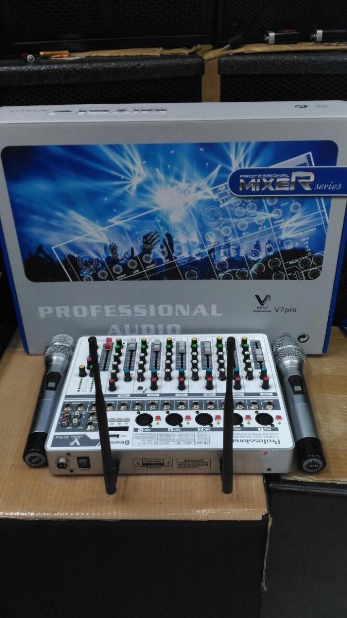 harga Audio mixer vpk v7pro(2bh mic wireless) Tokopedia.com