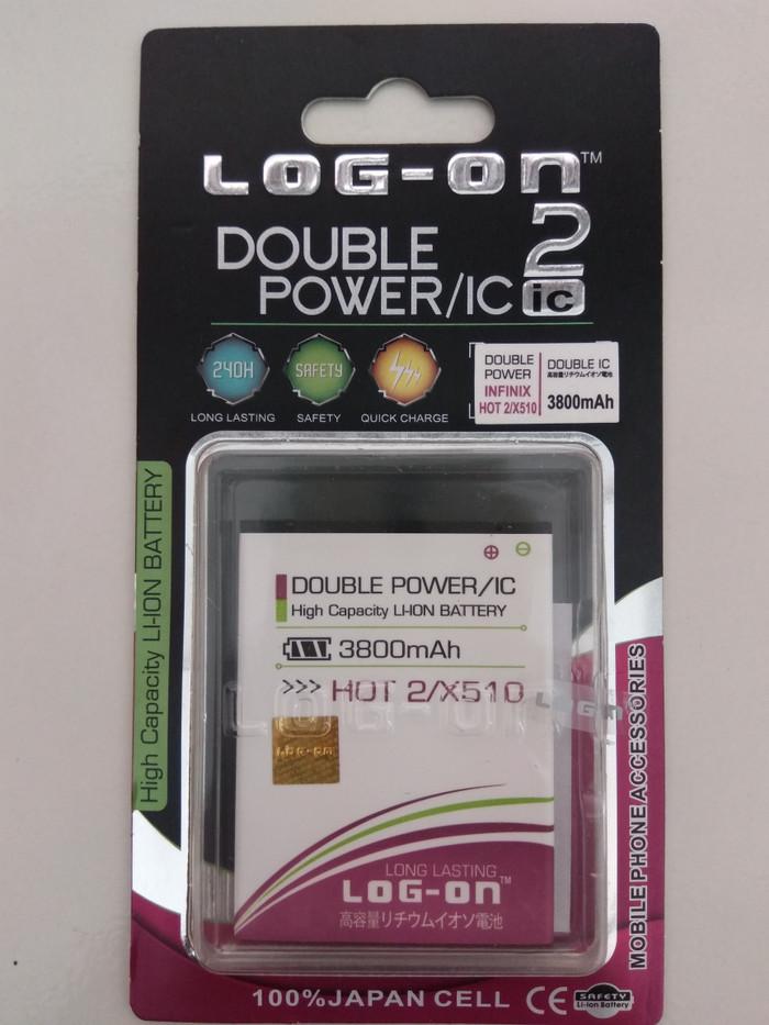 harga Batre dobel power infinix hot/hot 2/x510 baterai log on double power Tokopedia.com