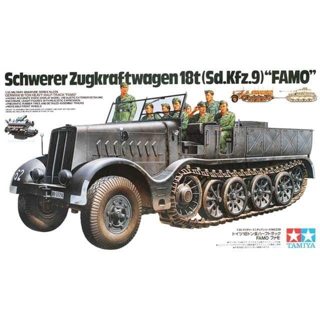 harga Tamiya 35239 1/35 ger.18 ton heavy half track famo Tokopedia.com