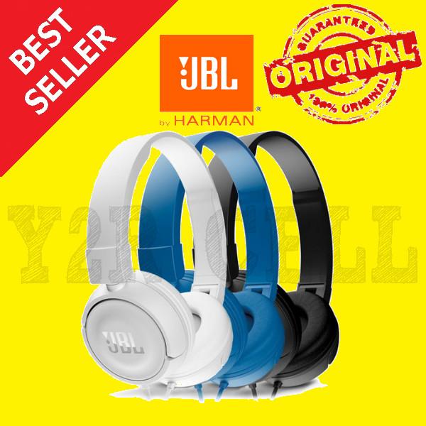 Jual JBL T450 On Ear Headphone Headset Earphone Headphones