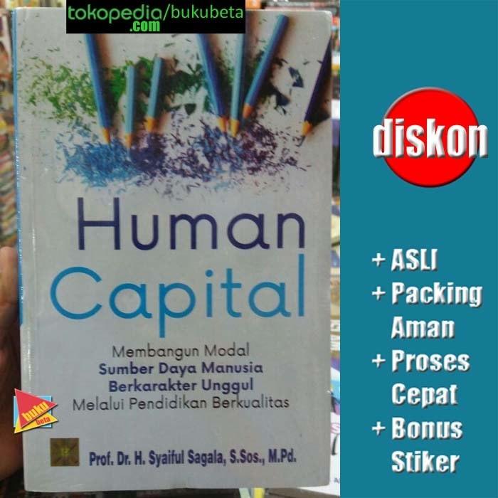 harga Human capital  - syaiful sagala Tokopedia.com