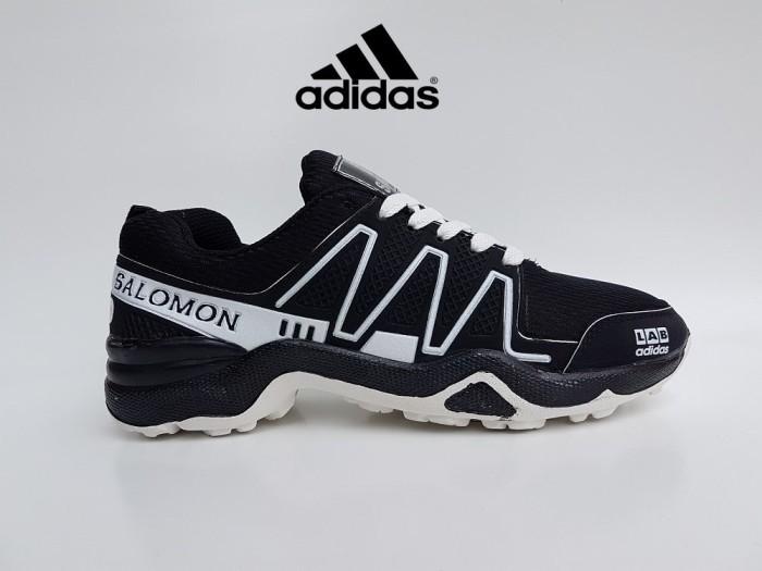 harga Sepatu Sport Adidas Salomon Lab Hitam Putih / Sneakers Hiking Pria Tokopedia.com