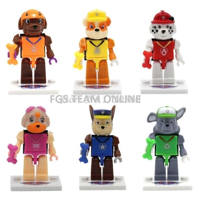 BEST SELLER LEGO SL TOYS MINI FIGURE PAW PATROL SERIES