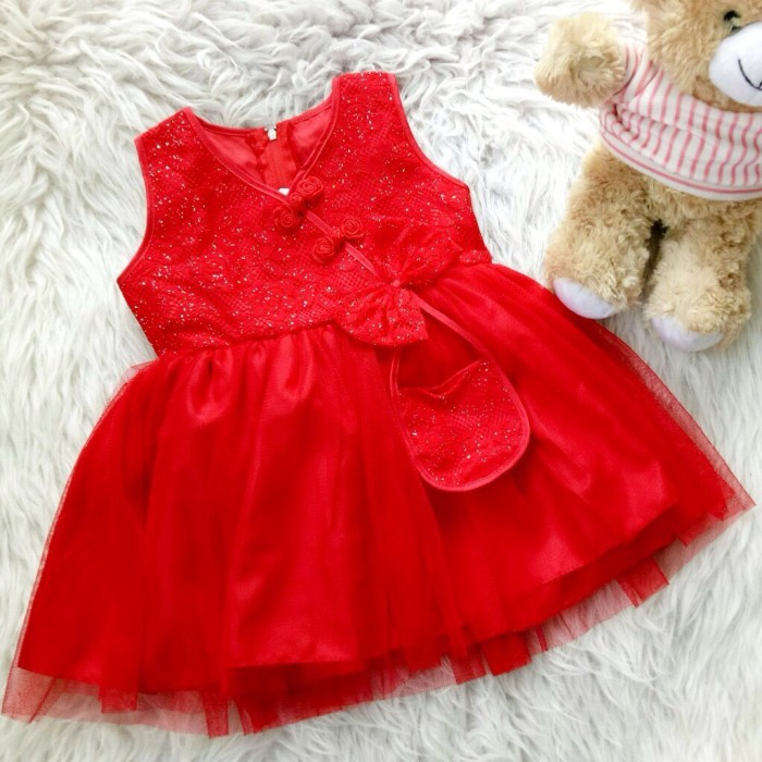 harga Dress shanghai astoria baju bayi anak Tokopedia.com