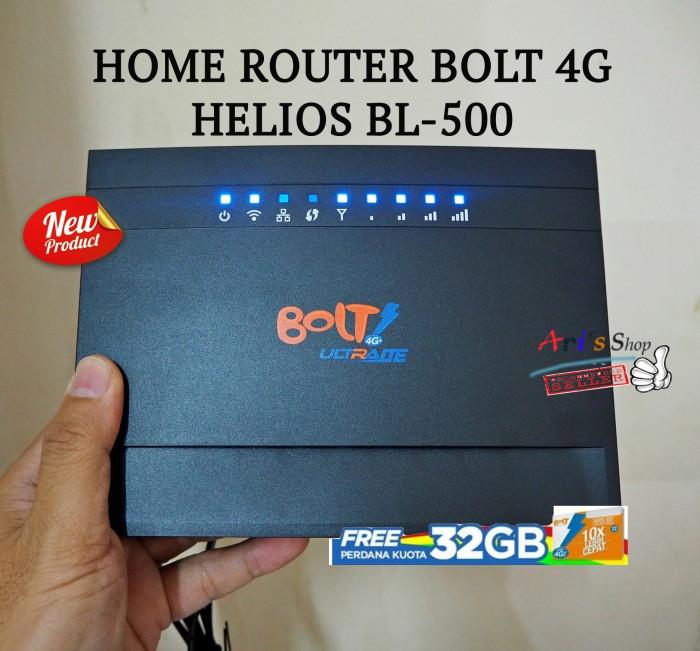 harga Home Router Bolt 4g Helios Bl-500  G2 Tokopedia.com