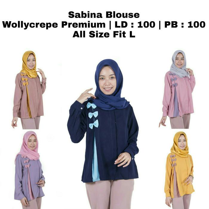 Produsen Baju Atasan Wanita Blouse Tunik Gamis Murah Blus Kemeja Kerja b96e2dad7e