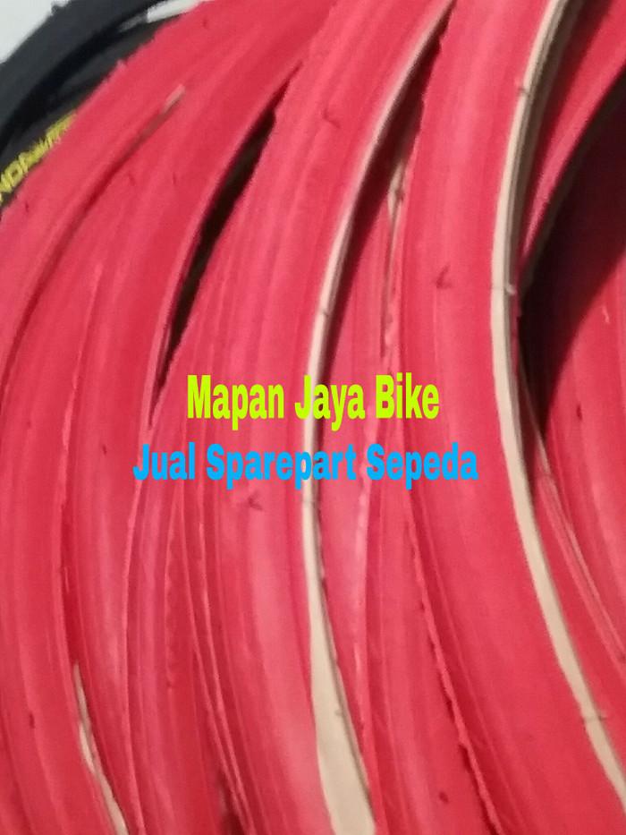 harga Ban luar sepeda fixie 700x23c viva merah Tokopedia.com