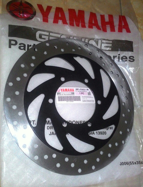 harga Piringan cakram depan original yamaha scorpio kode 5bp Tokopedia.com