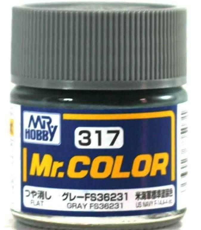 Mr COLOR C317 GRAY FS36231 - MR. HOBBY