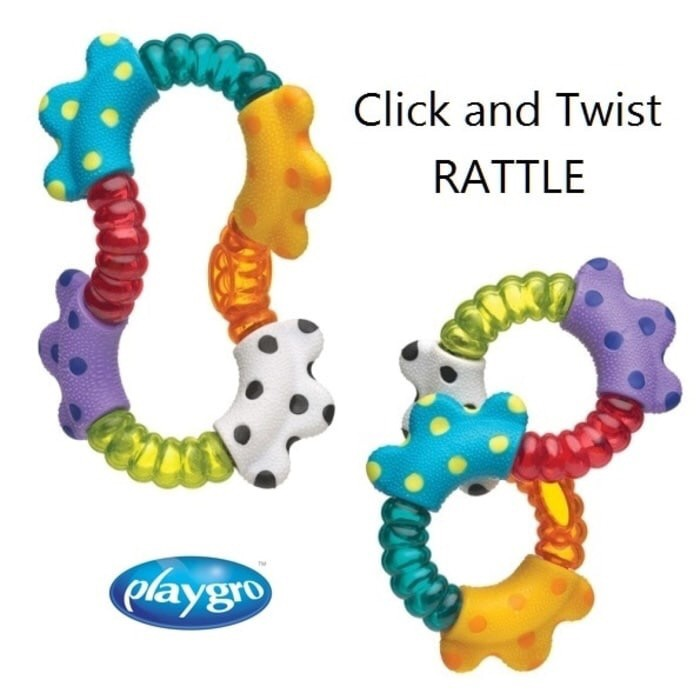 Image result for playgro click and twist rattle