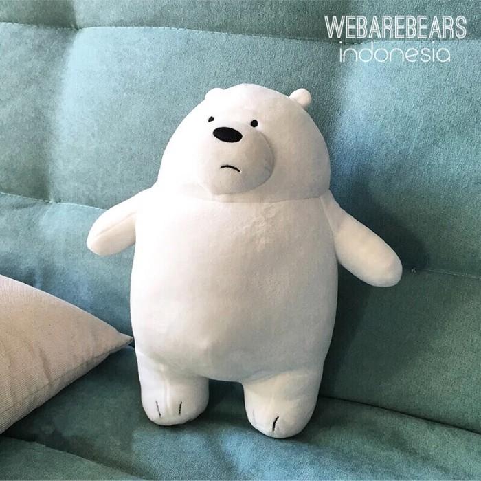 Ice Bear We Bare Bears Boneka Miniso Beruang Panda Teddy Bear