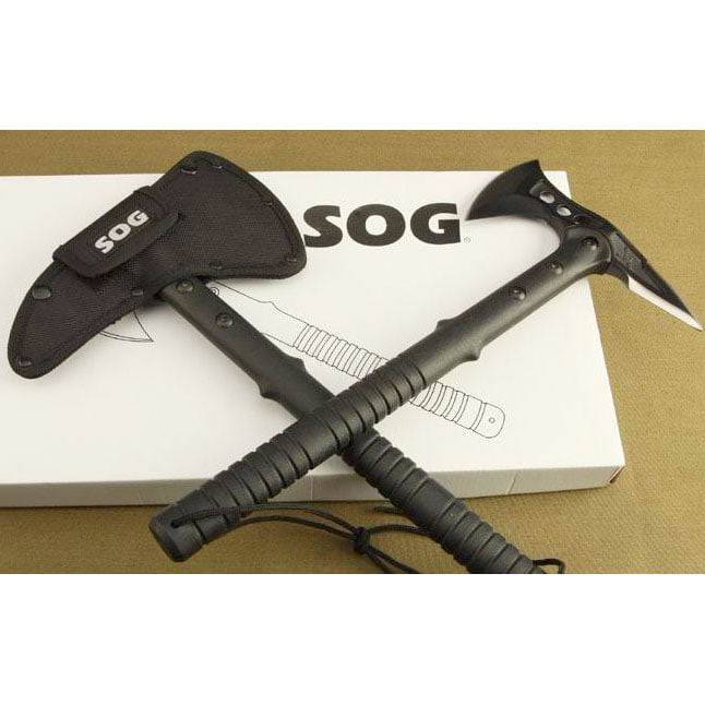 harga Kapak Dual-blade Tomahawk Stainless Steel - Black Tokopedia.com