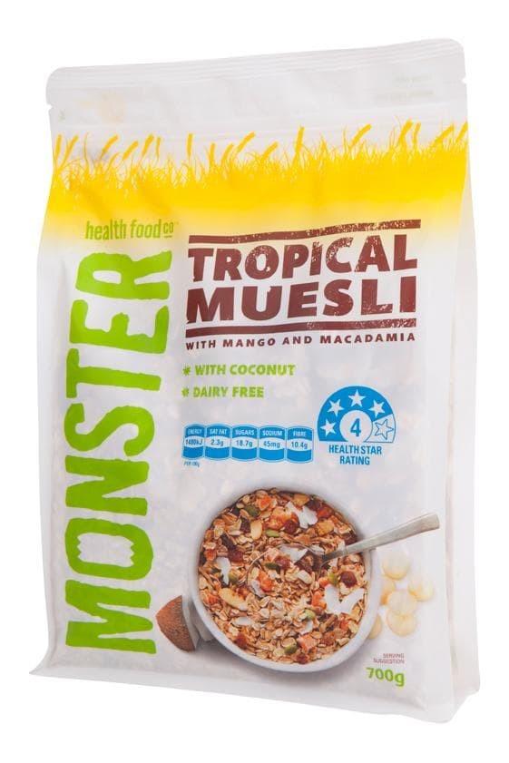 harga Monster Tropical Muesli Cereal | Healthy Food | Healthy Breakfast Tokopedia.com