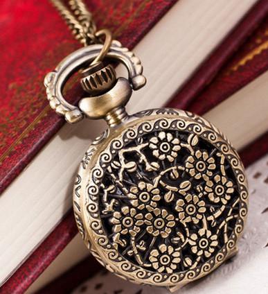 harga Pocket watch atau jam saku vintage motif mahkota hollow 2 Tokopedia.com