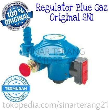 harga Regulator Khusus Kompor / Tabung Blue Gas/gaz 28 Mbar Aman & Bermutu Tokopedia.com