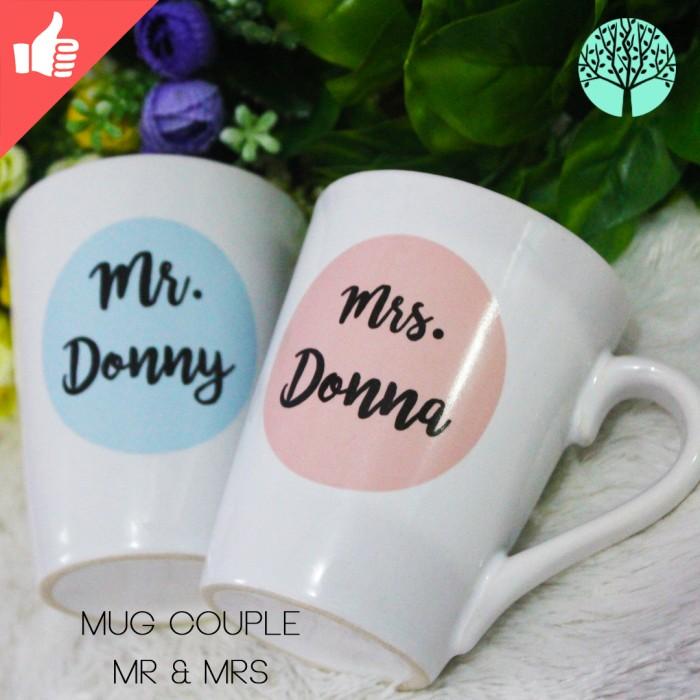 Mug couple mr & mrs model v