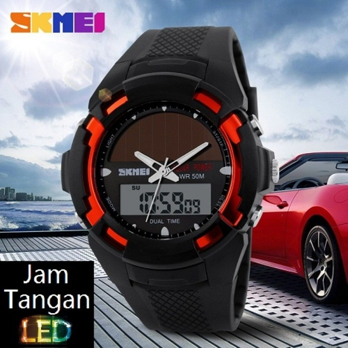 Jual SKMEI Bizzare 1056 Hitam Merah Original Import Murah Tahan Air ... 823dbf3ecd