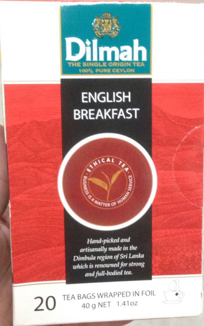 harga Dilmah english breakfast premium tea 40 gram 20 sachet expired panjang Tokopedia.com
