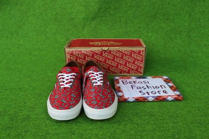 0f224d61cd Jual Sepatu Vans Era 59 Paisley Red ORIGINAL 100% - Bekasi Fashion ...