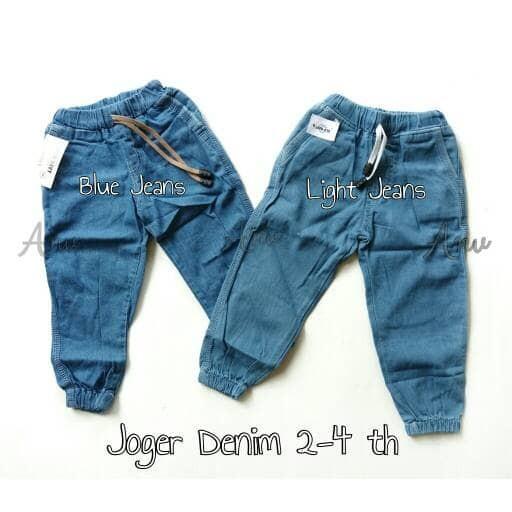 harga Joger jeans anak size 6 bln - 4 th celana jeans panjang anak Tokopedia.com