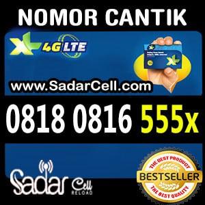 Nomor Cantik XL Dobel Operator 0818 0816 Triple 555x cek list