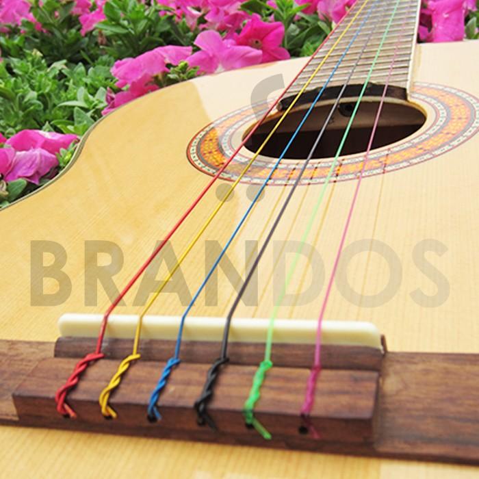 Senar gitar klasik warna warni colourful alice 107c .