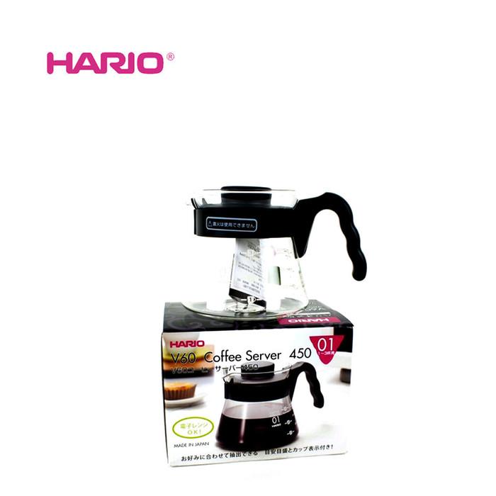 SALE Hario V60 VCS-01B Black Coffee Server 450ml