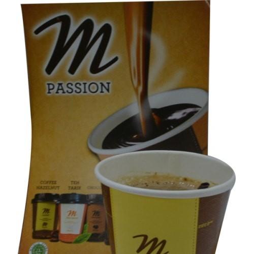 Minuman Siap Saji M COFFEE HAZELNUT 12 CUP