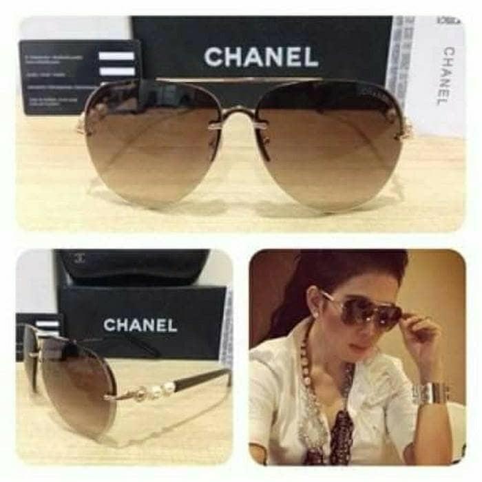 Jual Kacamata Terbaru Kaca Mata Fashion Chanel Mutiara  2d661373a6