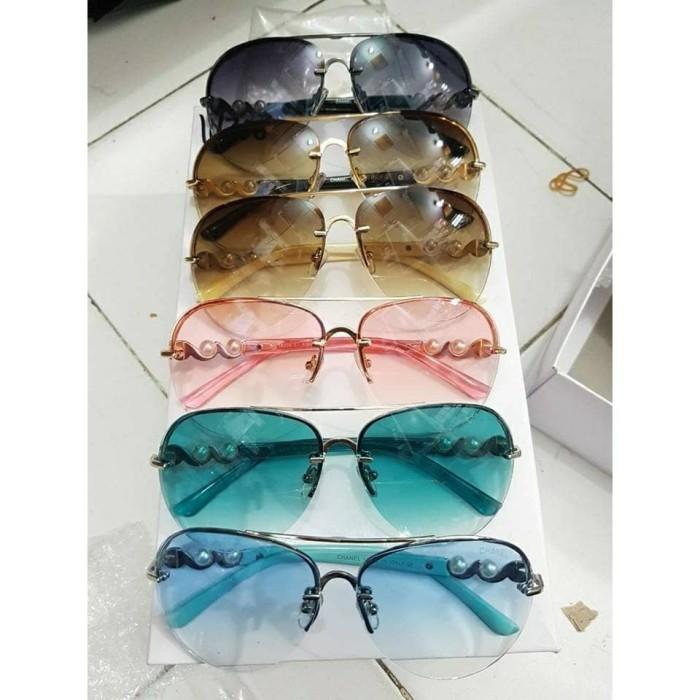 ... Kacamata Terbaru Kaca Mata Fashion Chanel Mutiara - Blanja.com af4998bc5d