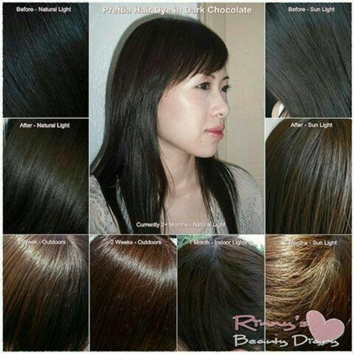 Jual Liese Prettia Creamy Bubble Hair Color Dark Chocolate Murah