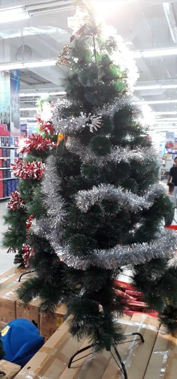 harga Pohon natal 1.8 meter + accesoris Tokopedia.com