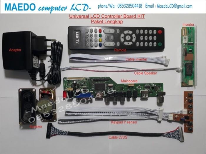 Jual Universal LCD Controller Board Kit - Kab  Banyumas - MAEDOcomputer-LCD  | Tokopedia