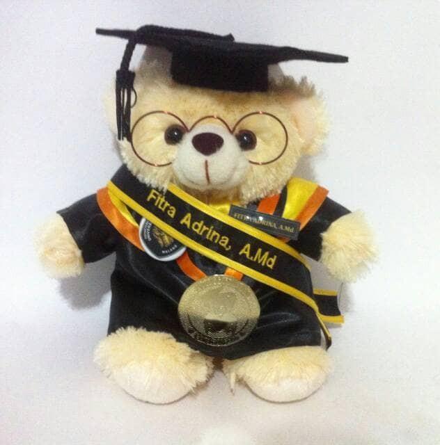 Jual boneka wisuda teddy bear 30cm cek harga di PriceArea.com 7421edeb84