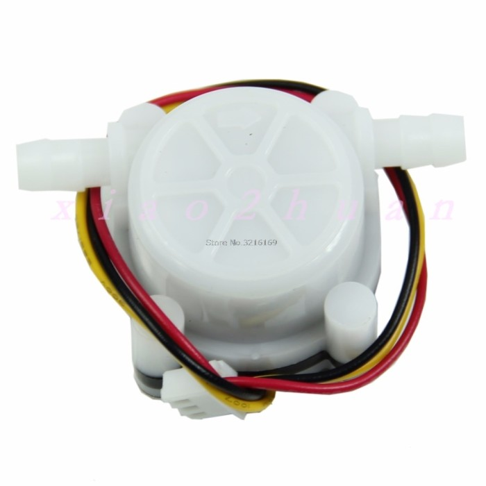 harga Precision liquid  water flow sensor switch meter flowmeter counter Tokopedia.com