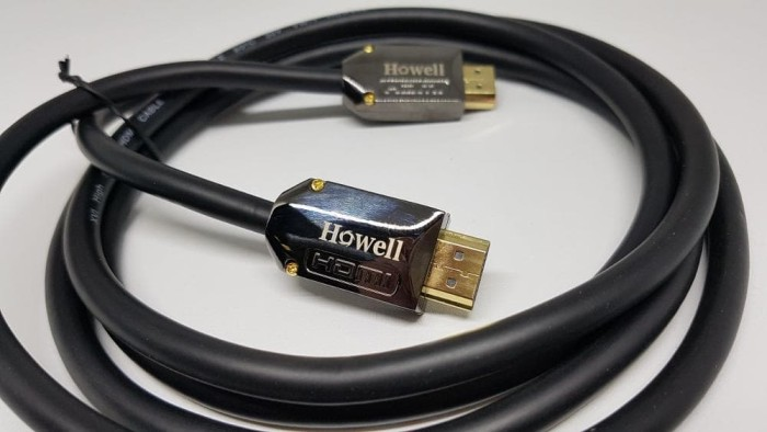 Kabel HDMI 2.0 howell 5m Ultra 4K gold plated - 5 meter - 5 m