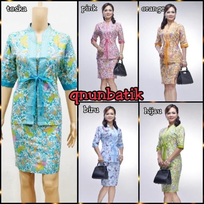 harga Rok n blus dress batik jumbo xl wanita kartika permen Tokopedia.com