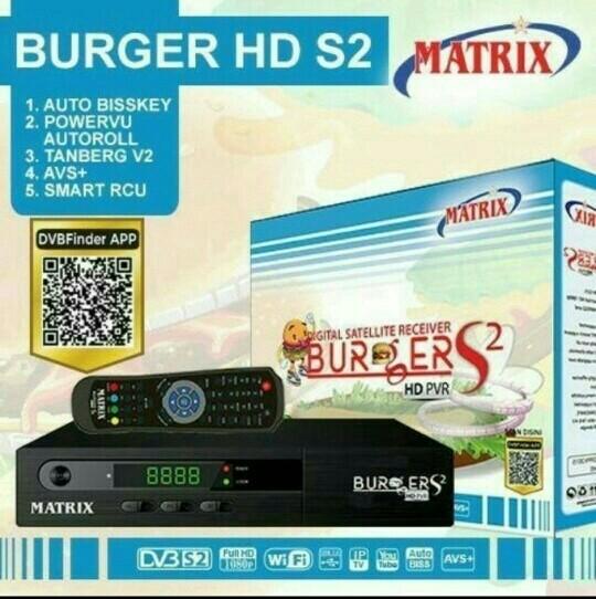 Receiver matrix burger s2 mini mpeg4