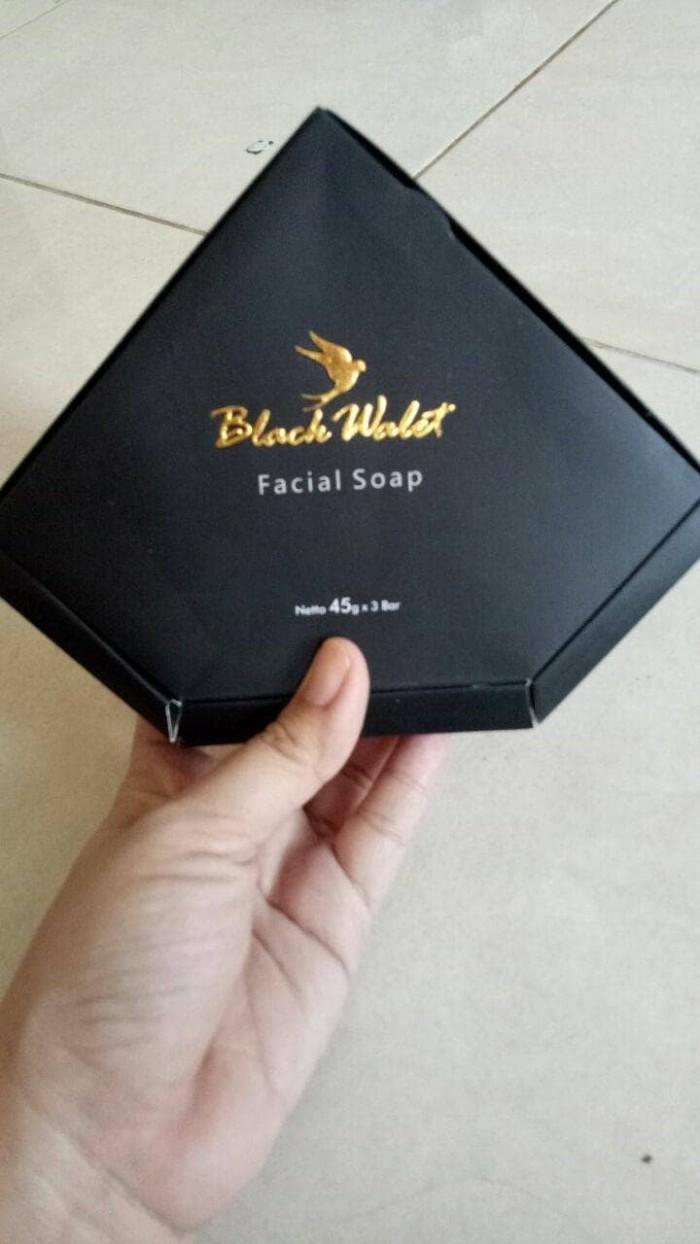 Jual Black Walet Facial Soap Sabun Wajah Pria Wanita Jogka Aero Muka